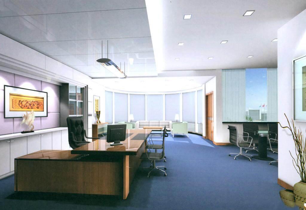 济南市办公室装修案例